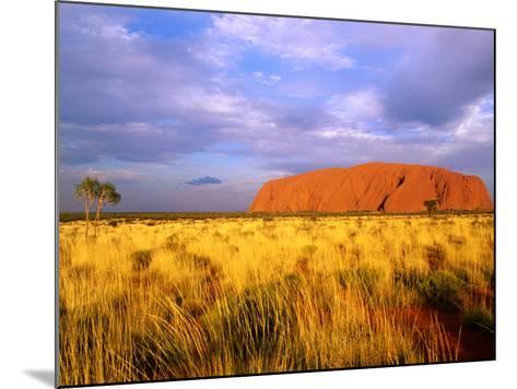 Uluru, Uluru-Kata Tjuta National Park, Northern Territory, Australia-John Banagan-Mounted Photographic Print