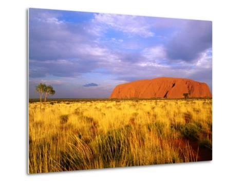 Uluru, Uluru-Kata Tjuta National Park, Northern Territory, Australia-John Banagan-Metal Print