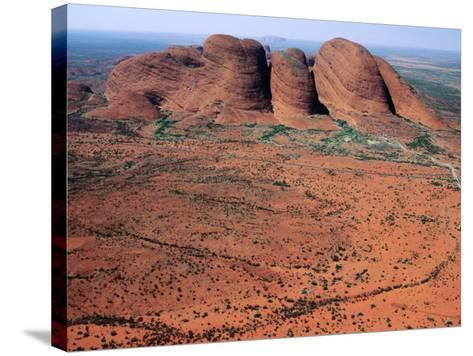 Kata Tjuta, Uluru-Kata Tjuta National Park, Northern Territory, Australia-John Banagan-Stretched Canvas Print
