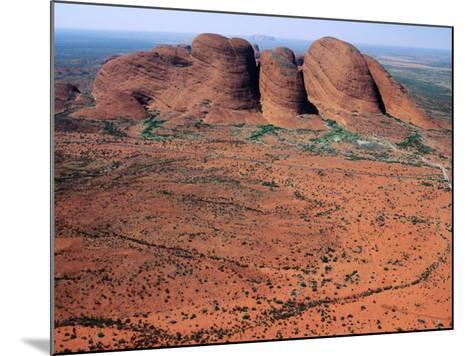 Kata Tjuta, Uluru-Kata Tjuta National Park, Northern Territory, Australia-John Banagan-Mounted Photographic Print