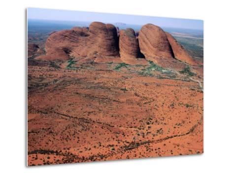 Kata Tjuta, Uluru-Kata Tjuta National Park, Northern Territory, Australia-John Banagan-Metal Print