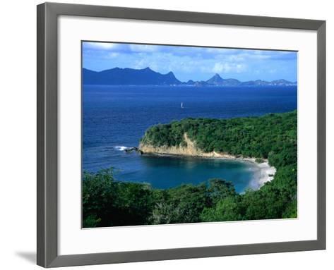 Anse la Roche Beach, Carriacou, Carriacou and Petit Martinique, Grenada-Margie Politzer-Framed Art Print