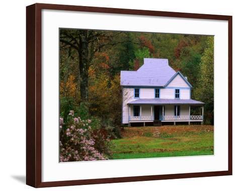 Caldwell House, Cataloochee, Great Smoky Mountains National Park, Tennessee-John Elk III-Framed Art Print