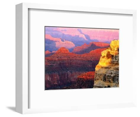 Grand Canyon from South Rim at Hopi Point, Grand Canyon National Park, Arizona-David Tomlinson-Framed Art Print
