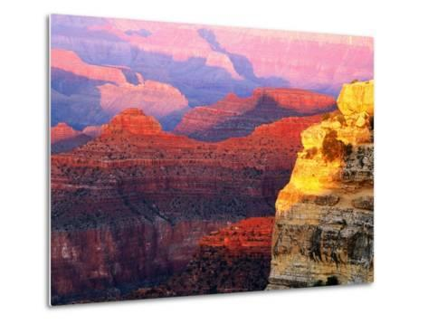 Grand Canyon from South Rim at Hopi Point, Grand Canyon National Park, Arizona-David Tomlinson-Metal Print