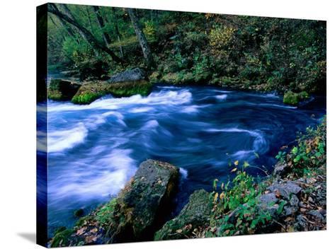 Big Spring, Ozarks National Scenic Riverways, Ozark National Park, Missouri-John Elk III-Stretched Canvas Print