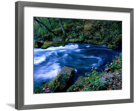 Big Spring, Ozarks National Scenic Riverways, Ozark National Park, Missouri-John Elk III-Framed Art Print
