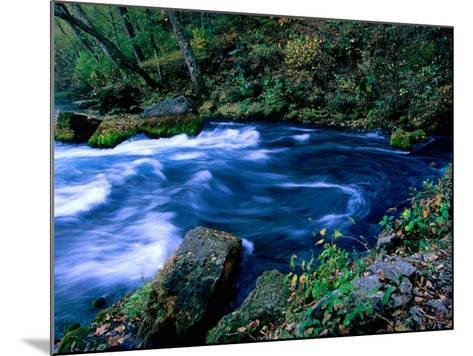 Big Spring, Ozarks National Scenic Riverways, Ozark National Park, Missouri-John Elk III-Mounted Photographic Print