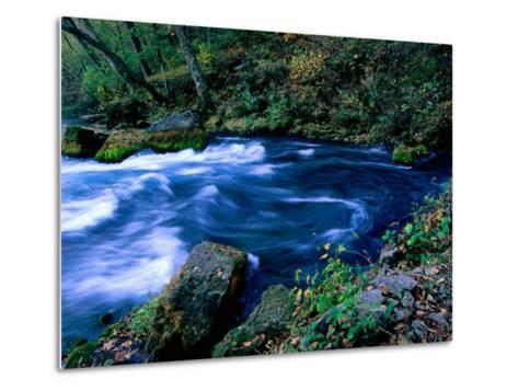Big Spring, Ozarks National Scenic Riverways, Ozark National Park, Missouri-John Elk III-Metal Print