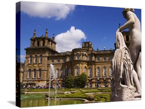 Blenheim Palace, Now a Unesco World Heritage Site, Blenheim Palace, Oxfordshire, England-Glenn Beanland-Stretched Canvas Print