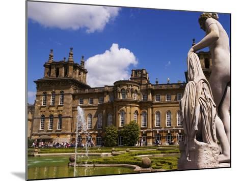 Blenheim Palace, Now a Unesco World Heritage Site, Blenheim Palace, Oxfordshire, England-Glenn Beanland-Mounted Photographic Print