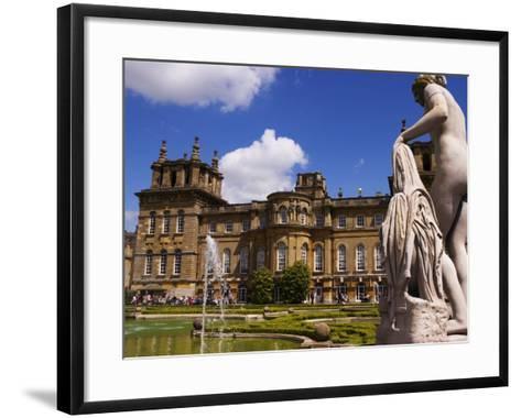 Blenheim Palace, Now a Unesco World Heritage Site, Blenheim Palace, Oxfordshire, England-Glenn Beanland-Framed Art Print