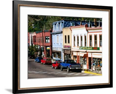 Street Scene, Manitou Springs, Colorado-Holger Leue-Framed Art Print