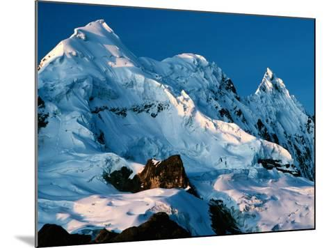 Mountain Peaks Under Snow on Vilcanota Trek, Vilcanota, Cuzco, Peru-Richard I'Anson-Mounted Photographic Print