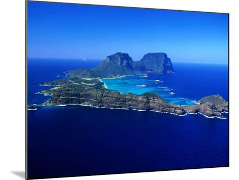 Lord Howe Island, New South Wales, Australia-Christopher Groenhout-Mounted Photographic Print