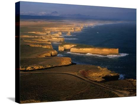 Coastline, Port Campbell National Park, Victoria, Australia-Peter Hendrie-Stretched Canvas Print