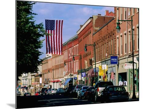 Main Street, Rockland, Maine-John Elk III-Mounted Photographic Print