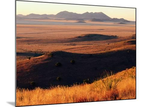 Davis Mountains State Park and Marfa Plain from Park Scenic Drive, Marfa, Texas-Witold Skrypczak-Mounted Photographic Print