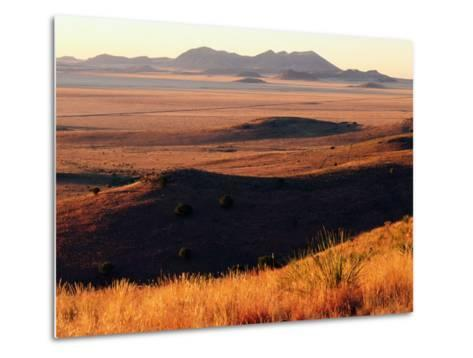 Davis Mountains State Park and Marfa Plain from Park Scenic Drive, Marfa, Texas-Witold Skrypczak-Metal Print