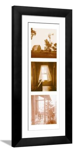 Country Memories Triptych--Framed Art Print