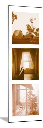 Country Memories Triptych--Mounted Photo