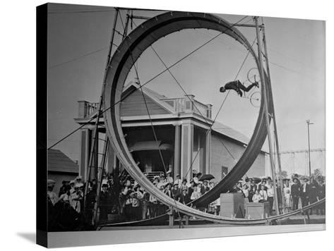 Loop The Loop, New York, New York-Charles Kenneth Lucas-Stretched Canvas Print