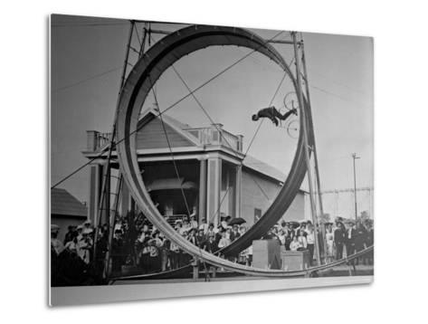 Loop The Loop, New York, New York-Charles Kenneth Lucas-Metal Print