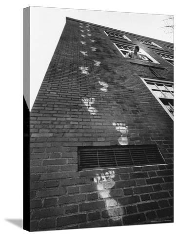 Keeping Track, Salem, Oregon, c.1967--Stretched Canvas Print