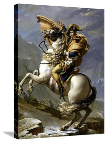 Napoleon Crossing the Alps, c.1800-Jacques-Louis David-Stretched Canvas Print
