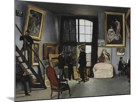 Bazille's Studio, c.1870-Frederic Bazille-Mounted Giclee Print