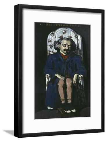 Achille Emperaire, c.1868-Paul C?zanne-Framed Art Print