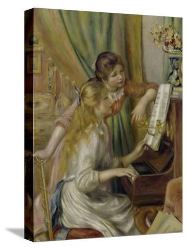 Two Girls at the Piano, c.1892-Pierre-Auguste Renoir-Stretched Canvas Print