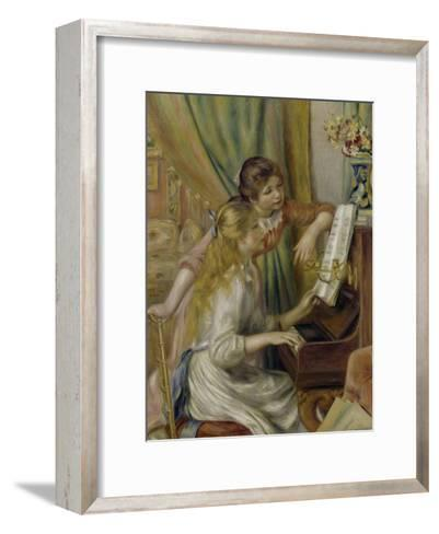 Two Girls at the Piano, c.1892-Pierre-Auguste Renoir-Framed Art Print