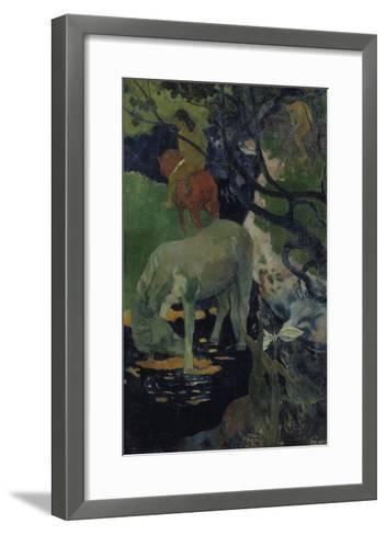 The White Horse, c.1893-Paul Gauguin-Framed Art Print
