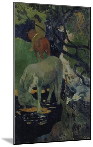 The White Horse, c.1893-Paul Gauguin-Mounted Giclee Print