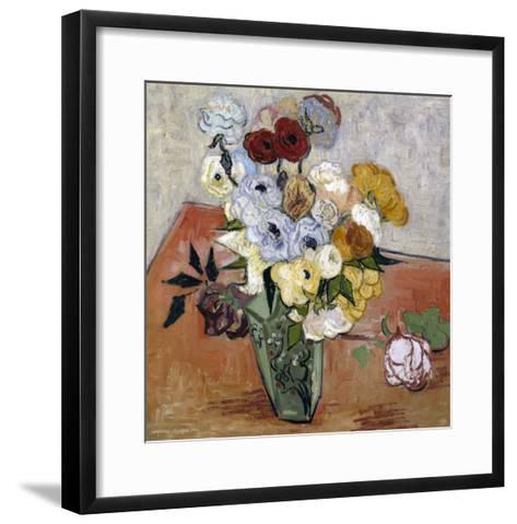 Still-Life with Japanese Vase, c.1890-Vincent van Gogh-Framed Art Print