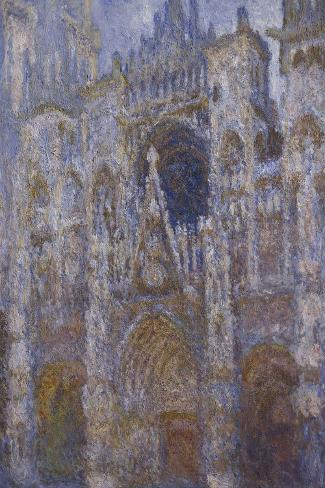 Rouen Cathedral, c.1894-Claude Monet-Stretched Canvas Print
