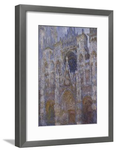 Rouen Cathedral, c.1894-Claude Monet-Framed Art Print