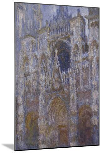 Rouen Cathedral, c.1894-Claude Monet-Mounted Giclee Print
