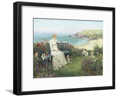 Contemplation-Henry John Yeend King-Framed Art Print