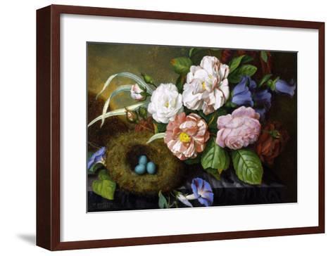 Still Life of Camelias-Woodleigh Marx Hubbard-Framed Art Print