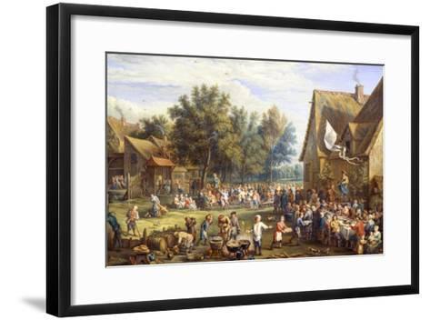 Village Feast-Constantin Coene-Framed Art Print