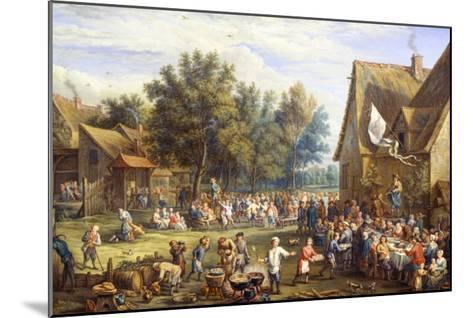 Village Feast-Constantin Coene-Mounted Giclee Print