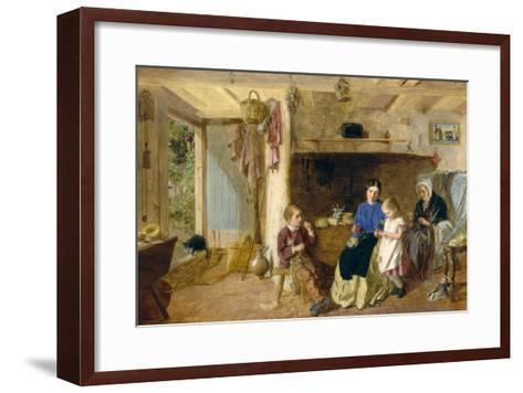 Helping Mother-G. W. Brownlow-Framed Art Print