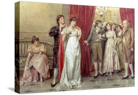 The Fairest of Them All-George Goodwin Kilburne-Stretched Canvas Print