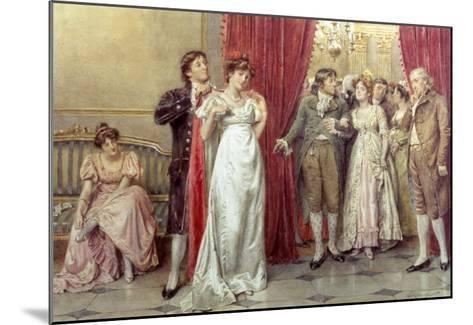 The Fairest of Them All-George Goodwin Kilburne-Mounted Giclee Print
