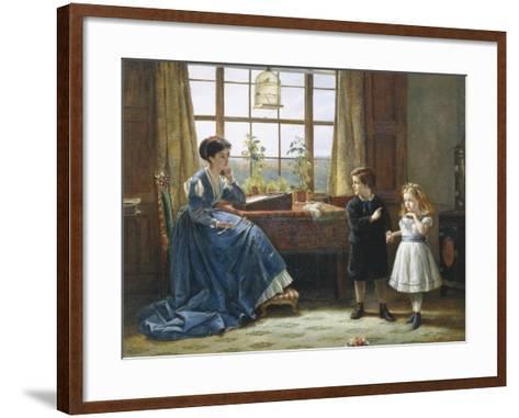 The Introduction-George Goodwin Kilburne-Framed Art Print
