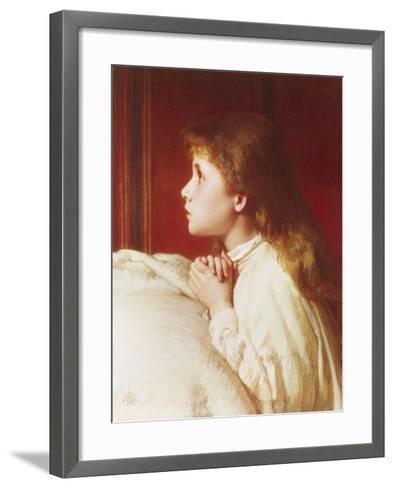 Prayer-Henry Le Jeune-Framed Art Print