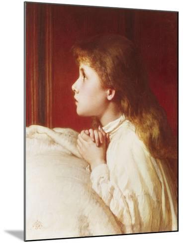 Prayer-Henry Le Jeune-Mounted Giclee Print