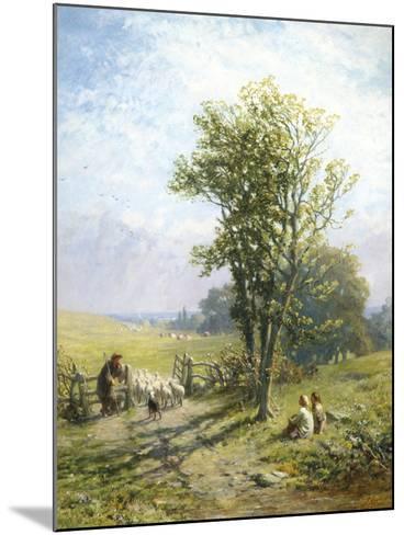 Beautiful Summer's Day-James John Hill-Mounted Giclee Print